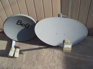 satellite dish installations, used dishes/parts for sale Windsor Region Ontario image 2