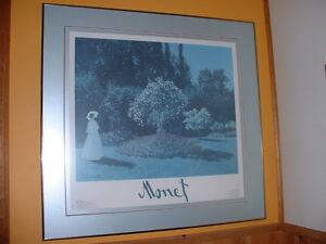 Sérigraphie,Claude Monet, Huile sur Toile Québec City Québec image 1