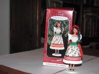 1998 MEXICAN BARBIE ORNAMENT
