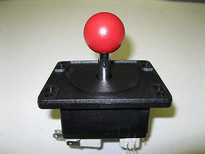 Happ Ms Pacman/galaga Red Top Joystick Replacement For Arcade Multicade Game