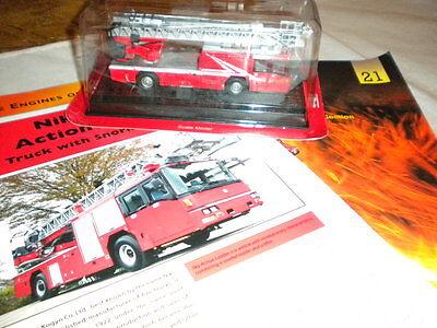 Del Prado World Fire Engines - Japan 2003 Nikki Sky Action Ladder Boxed Code 21