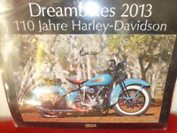 Wandkalender Dreambikes 2013  110 Jahre Harley- Davidson NEU Nordrhein-Westfalen - Witten Vorschau