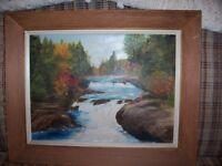 Original Crawley Oil Painting