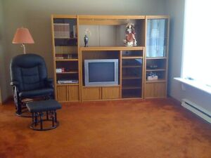 Sectional Entertainment Wall Unit