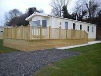 Self Catering Holiday Static Caravan Family Dog friendly on working farm stunning Dartmoor views