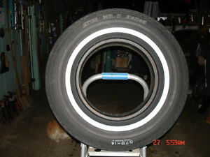 Really good bias ply whitewall tires London Ontario image 1