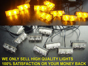 Amber recovery lights