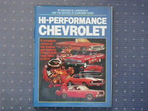 High Performance Chevrolet 1953-1970.