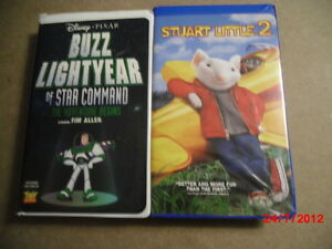 VHS Buzz Lightyear of star command or Stuart Little 2 Gatineau Ottawa / Gatineau Area image 1