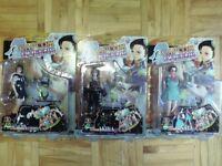 Figurines: Capcom Queens Rival School of Akira & Hinata