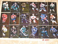 Cartes de hockey MVP 99-2000 – Stanley Cup Talent, etc.