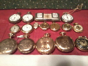 ANTIQUE VINTAGE POCKET WATCHES / ASST YEARS / 1885 - 1960 xxx City of Toronto Toronto (GTA) image 1
