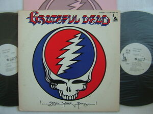 PROMO WHITE LABEL / GRATEFUL DEAD STEAL YOUR FACE / 2LP