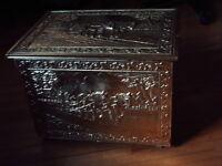 Wedding card  holder/Vintage Storage  box/ Fancy  firewood  box
