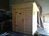 Looking for a Shed or a Sh--Outhouse???