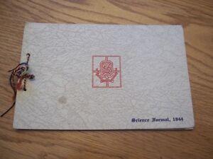 Queens university 1944 science formal album