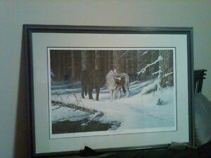 WOLF PRINTS - DUCKS UNLIMITED Regina Regina Area image 2