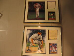 Wade Boggs and Roger Clemens Prints