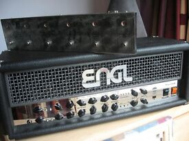 Engl Powerball 100w guitar amp and z10 footswitch