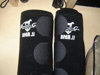 HORSE FRONT SPLINT BOOTS size XL (brand new) (black)