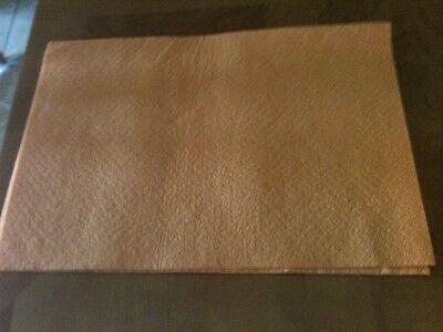 (10) Cuban Style Orange Mop Cloth/blanket-frazadas Alemanas Amarillas-20x28