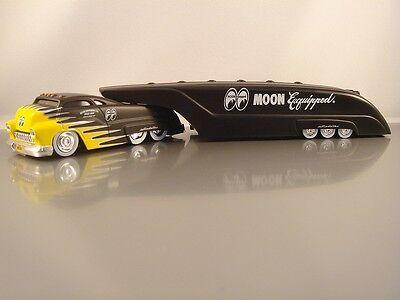 Moon Eyes Mooneyes Flat Black Drag Bus Sledster