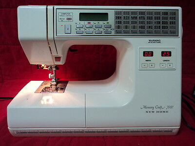 Janome / New Home Memory Craft 7000 Quilting * Sewing * Crafting Machine Mc7000