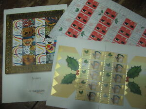LS1 LS2  LS3   GENERIC SMILERS SHEETS GB STAMPS *