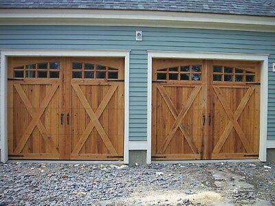 9x8 cypress sectional o h carriage house garage door for 10x7 garage door