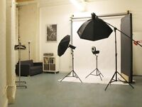 Photography Studio Hire | £65 full day (9 hours)