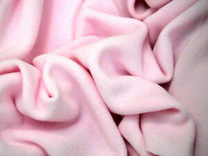 Anti -Pil Polar Fleece Fabric soft warm per metre Plain