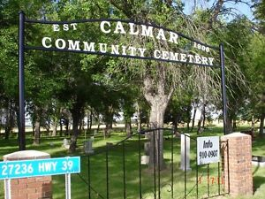 Cemetery Plots-Calmar AB-4 K's west of Calmar Edmonton Edmonton Area image 2