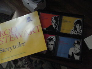 Rod Stewart Storyteller CD set