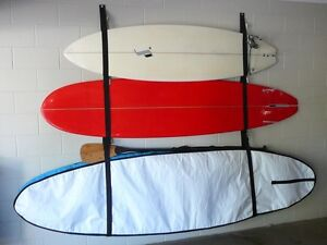 STRAP/RACK STORAGE SYSTEM for 2X SURFBOARDS/LONGBOARDS & 1X SUP Buderim Maroochydore Area Preview