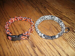 Paracord Dog & Cat Collars & Leashes