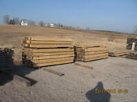 Cedar, Tamarack and Hemlock Lumber for Sale