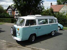 VW Campervan 1975 Bay