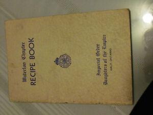 Daughters of the Empire, Book ,80 yrs old Recipies &Galt Buis.ad Cambridge Kitchener Area image 2
