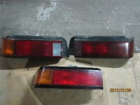 LUMIERES ARRIERES TAIL LIGHTS CIVIC EF HATCHBACK  88-91 USDM