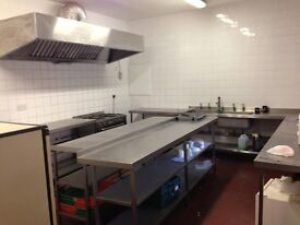 Catering Kitchen for Rent in Hillington Glasgow - Ready to Cook - Available in July