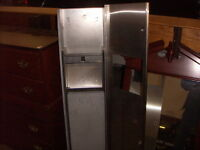 """Stainless Towel Disp. and Trash Receptacle [57"""" high x 12""""]"""