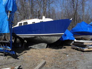 Sailboat  Steel Hull 26.5 ft