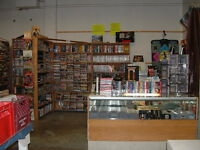 Video Games, DVDs, CDs, Comics @ Thirsty's, 1111 Ellice