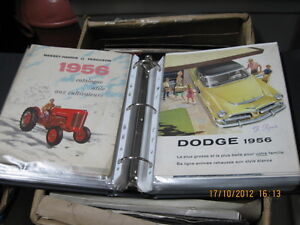 Wanted sales catalogs of tractors, trucks, industrial vehicles West Island Greater Montréal image 4