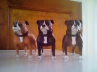 Staffordshire bull terriers ornaments