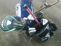 TWO SETS OF GOLF CLUBS FOR SALE!!!