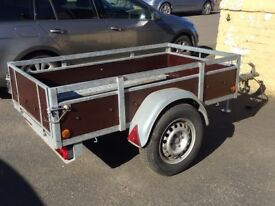 Weymar Car Trailer Unbraked 750kg Refurbished
