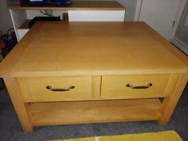 Ikea jonas desk bureau with three large drawers similar to ikea