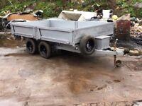 Bateson's tipper trailer twin axle