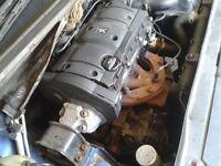 PEUGEOT 1.6 PETROL ENGINE&G/BOX STILL IN CAR CAN BE HEARD RUNNING